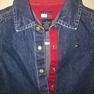 Tommy Hilfiger Jean Dress size 6 youth